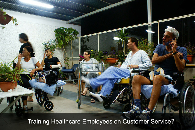 healthcare customer service training pdf