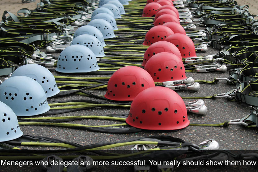 Lead the Way to Great Managers by Training them to Delegate