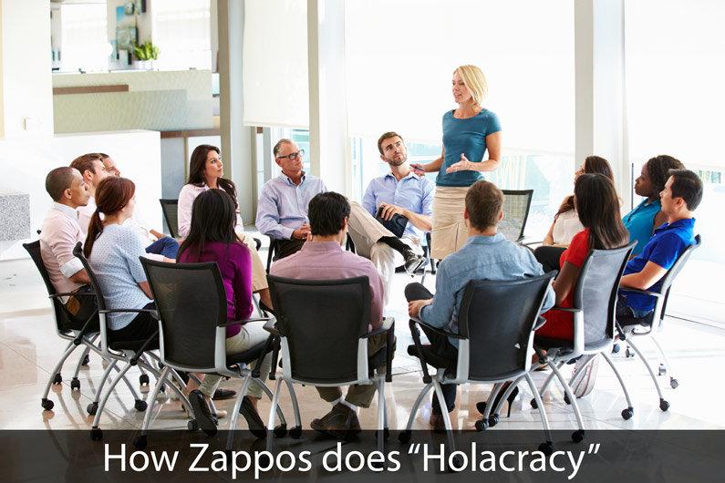 Zappos Zaps its Hierarchy