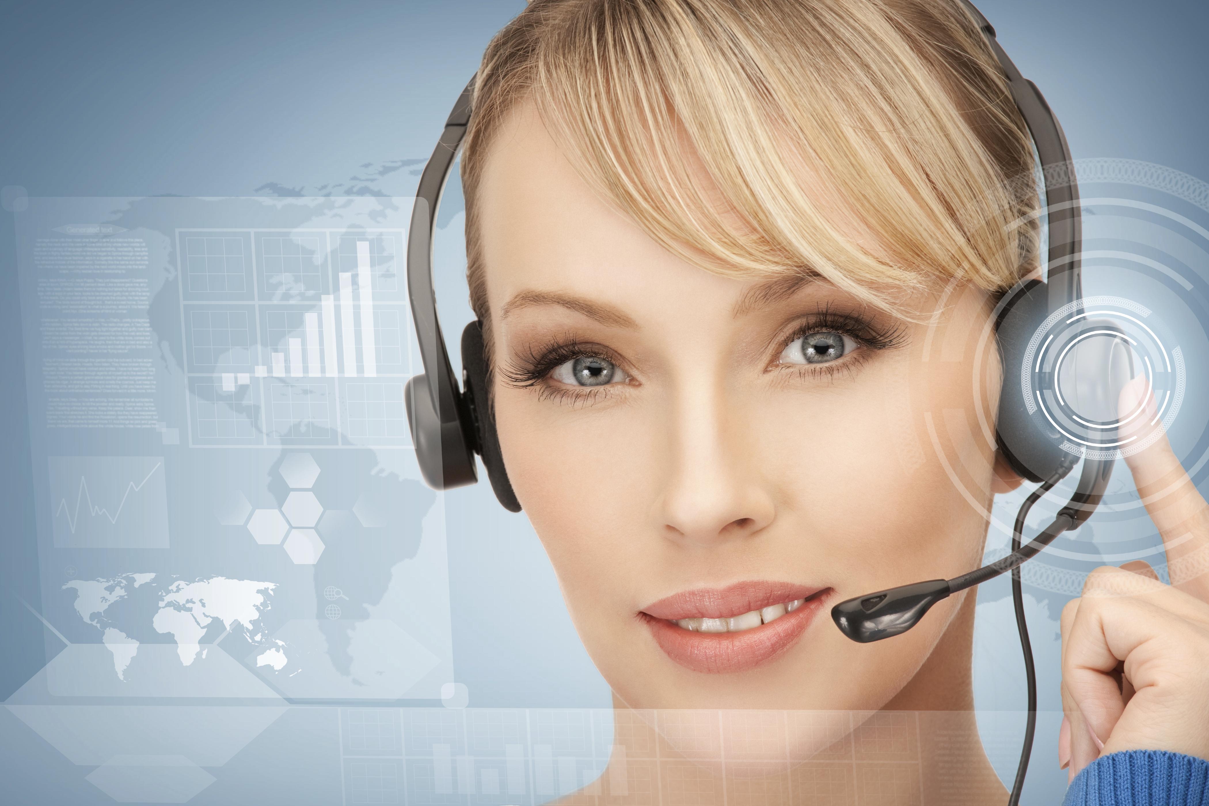 futuristic-female-helpline-operator