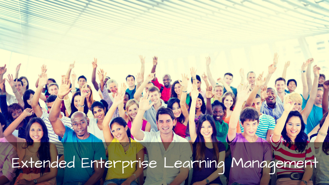 Extended enterprise learning management system