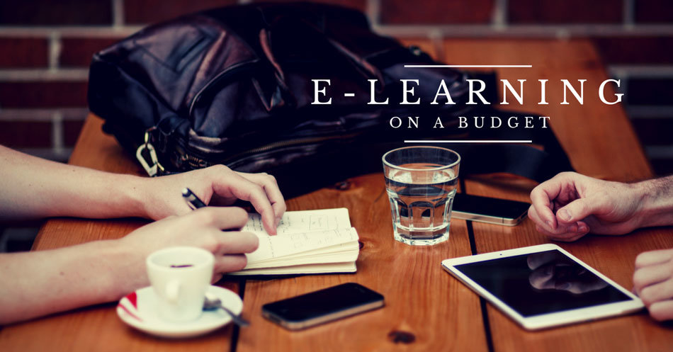 How to make the best of e-learning with a limited budget