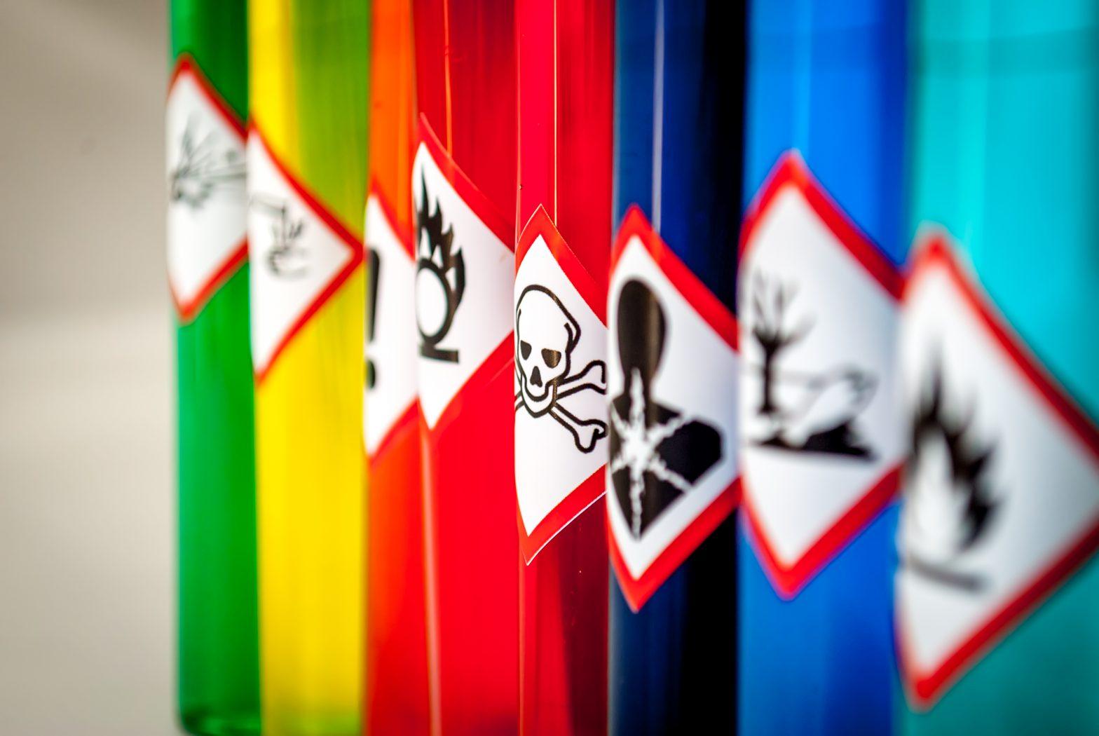 Chemical-hazard-pictograms-Toxic-focus