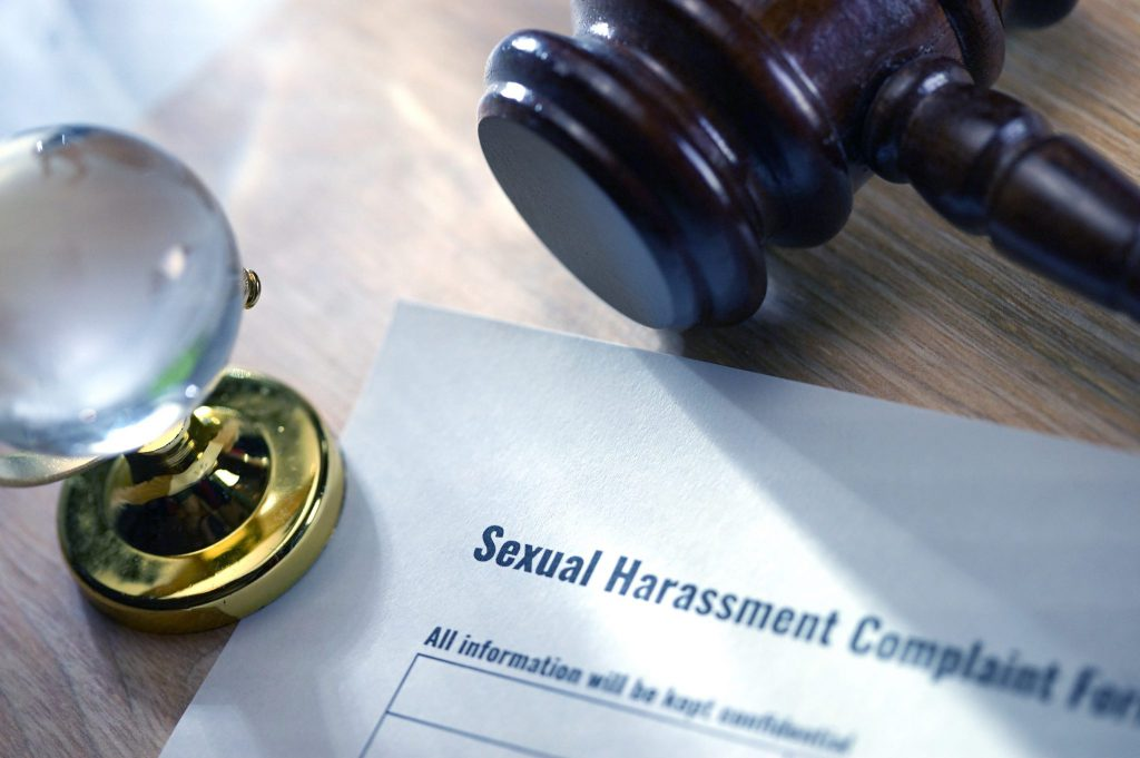 The new law requires mandatory sexual harassment training annually. Sexual harassment complaint form.