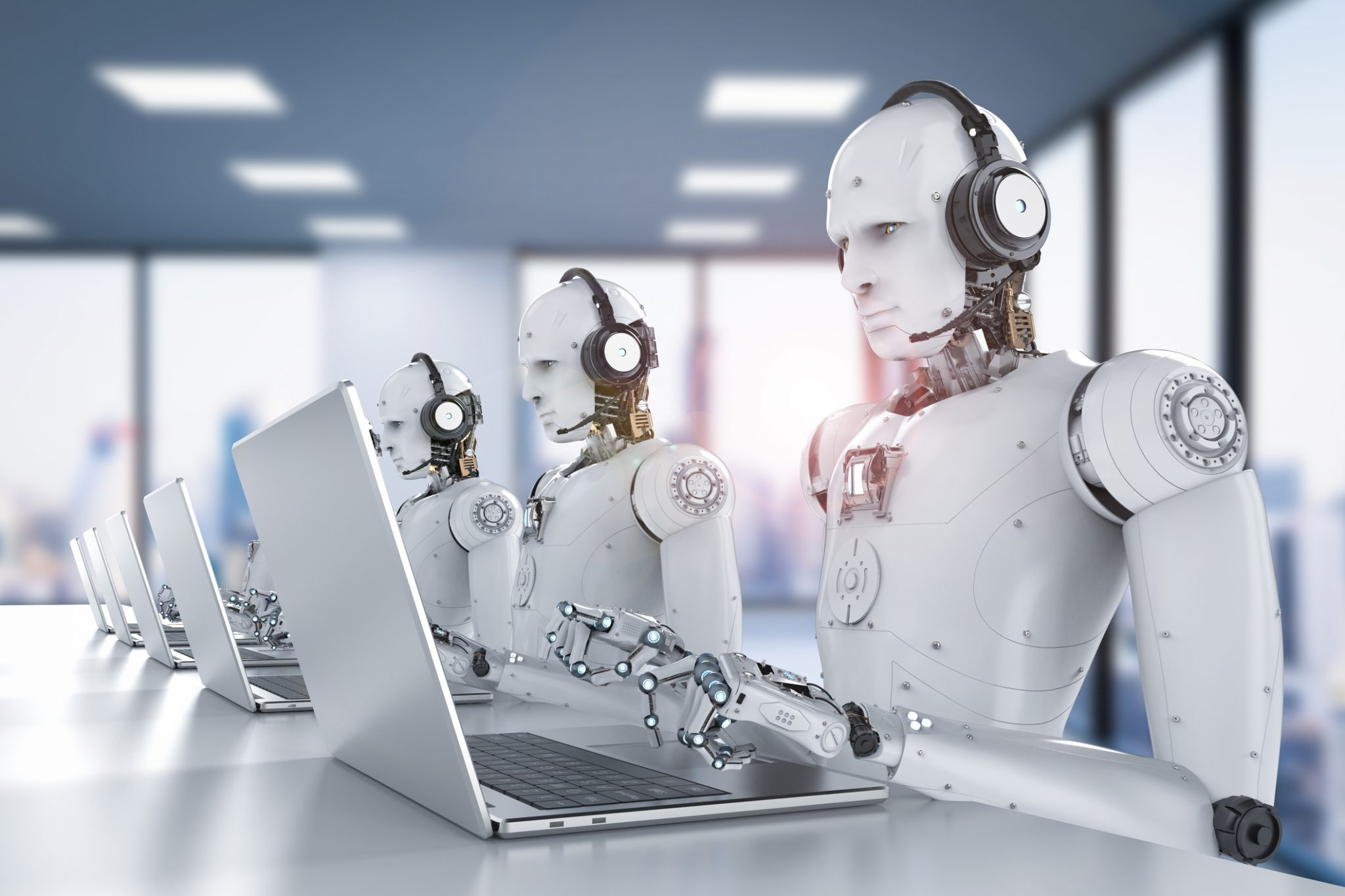 Artificial intelligence and its effect on the workplace.