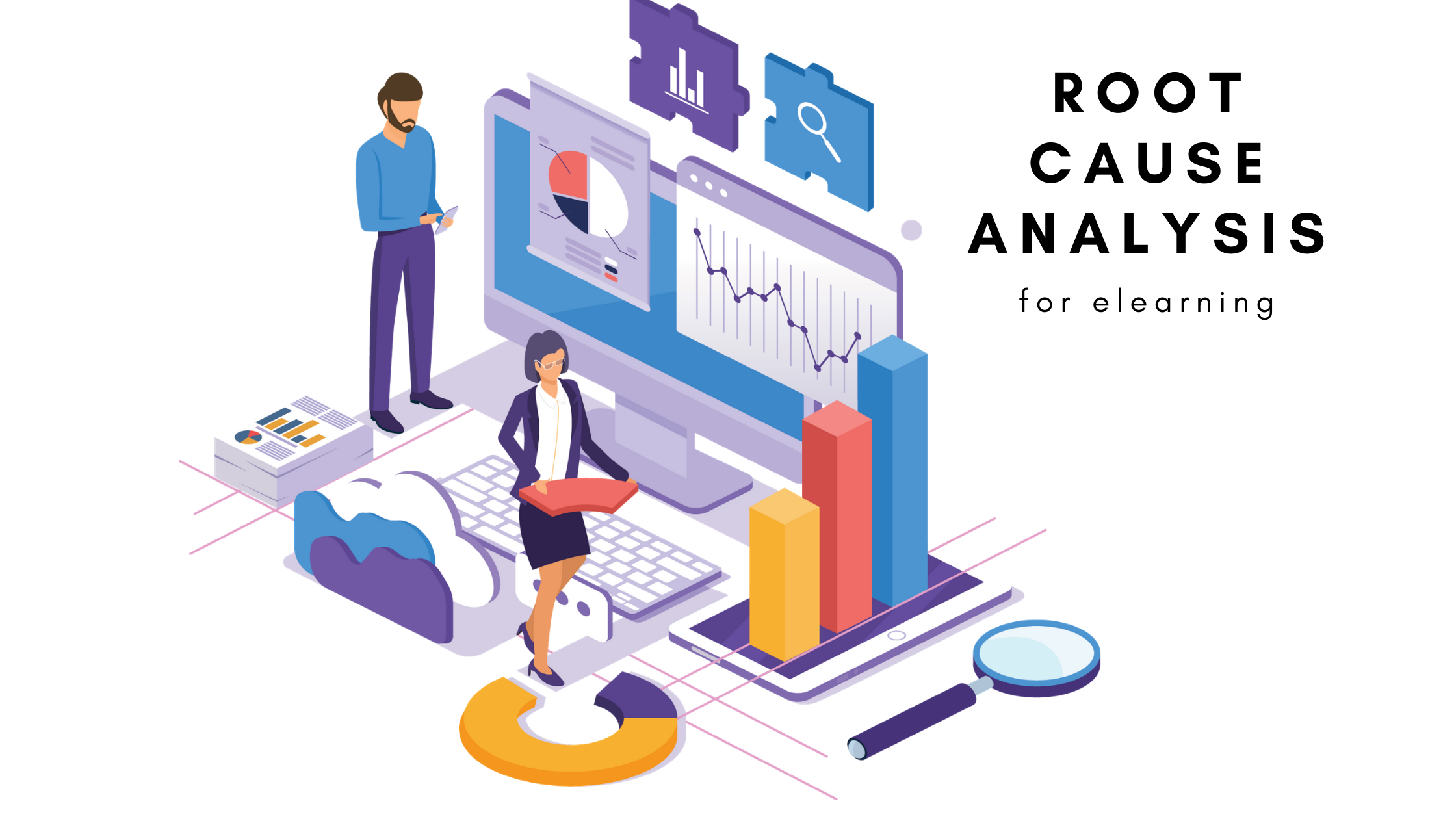 Root cause analysis for elearning objectives