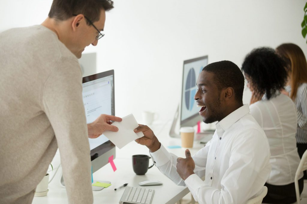Companies that do regular employee feedback have 14.9% lower turnover rates.