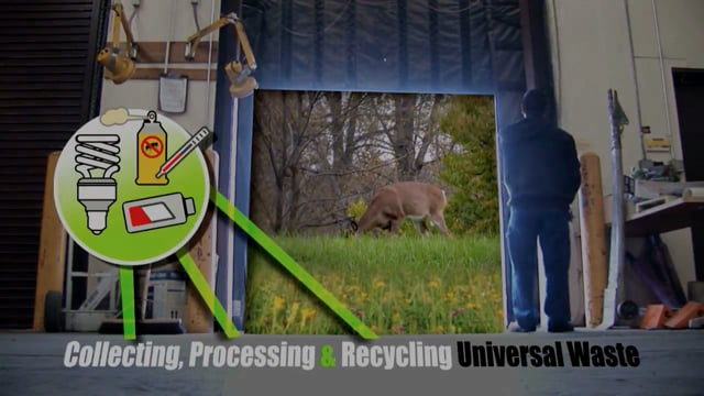 Collecting, Processing and Recycling Universal Waste