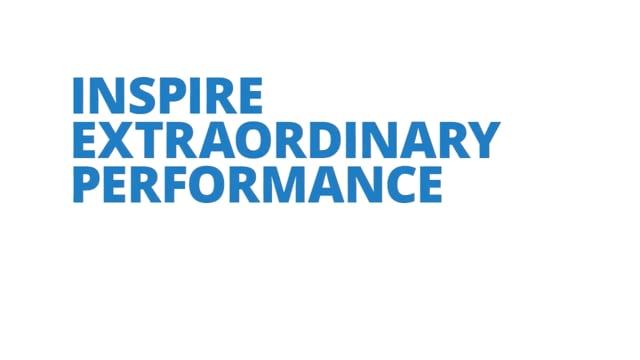 Inspire Extraordinary Performance