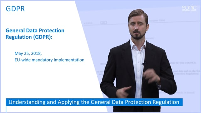 The General Data Protection Regulation (GDPR) Part 1: Why GDPR