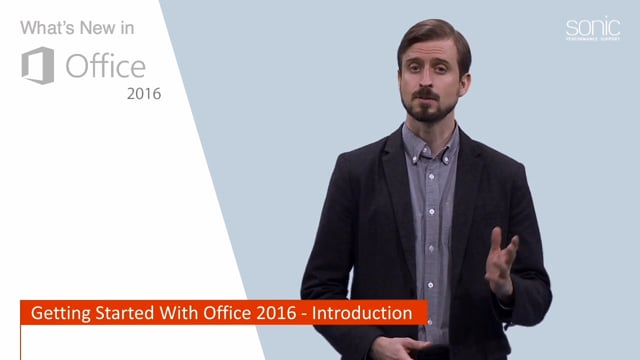 What's New in Microsoft Office 2016: Getting Started With Office 2016