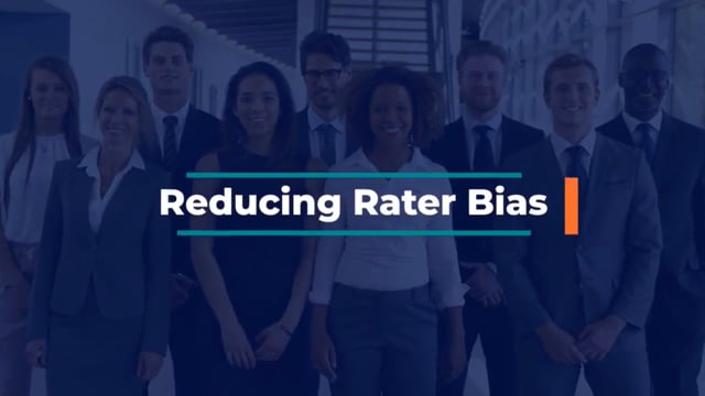 Becoming An Effective Manager: Reducing Rater Bias