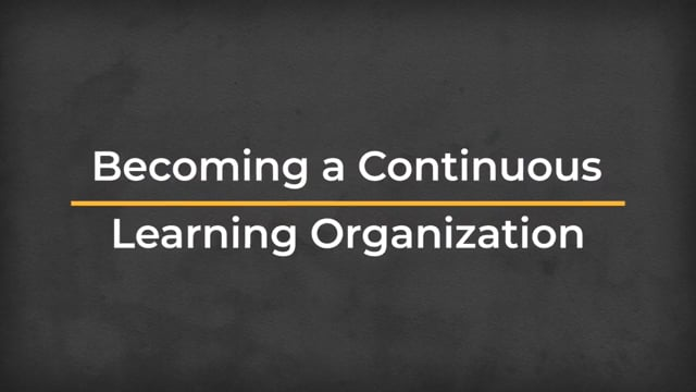 Business Acumen: Becoming A Continuous Learning Organization