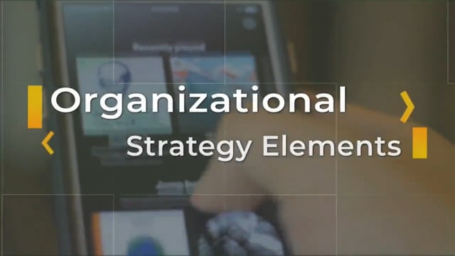 Business Strategy: Organizational Strategy Elements