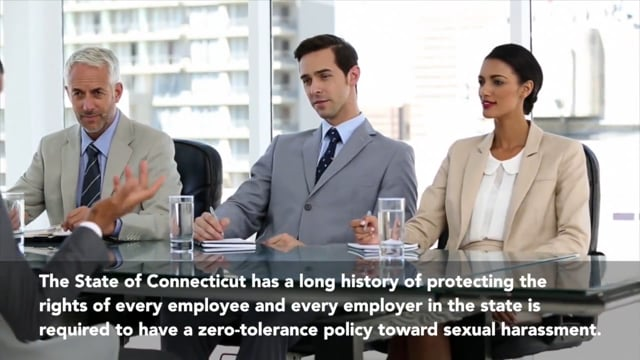 Sexual Harassment Prevention in Connecticut for Managers and Supervisors 2-Hour Course: Part 1