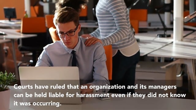Sexual Harassment Prevention in Connecticut for Managers and Supervisors 2-Hour Course: Part 4