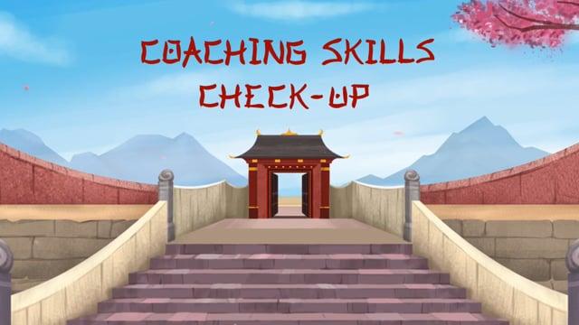 Effective Coaching: Coaching Skills Check Up