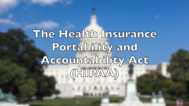 HIPAA Privacy Compliance: It's The Law