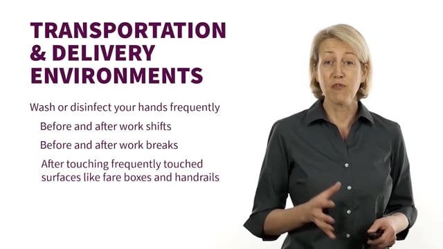 Come Back to Work Safely: Transportation and Delivery