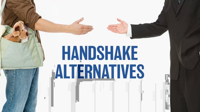 Maintaining A Clean And Healthy Work Environment: Handshake Alternatives
