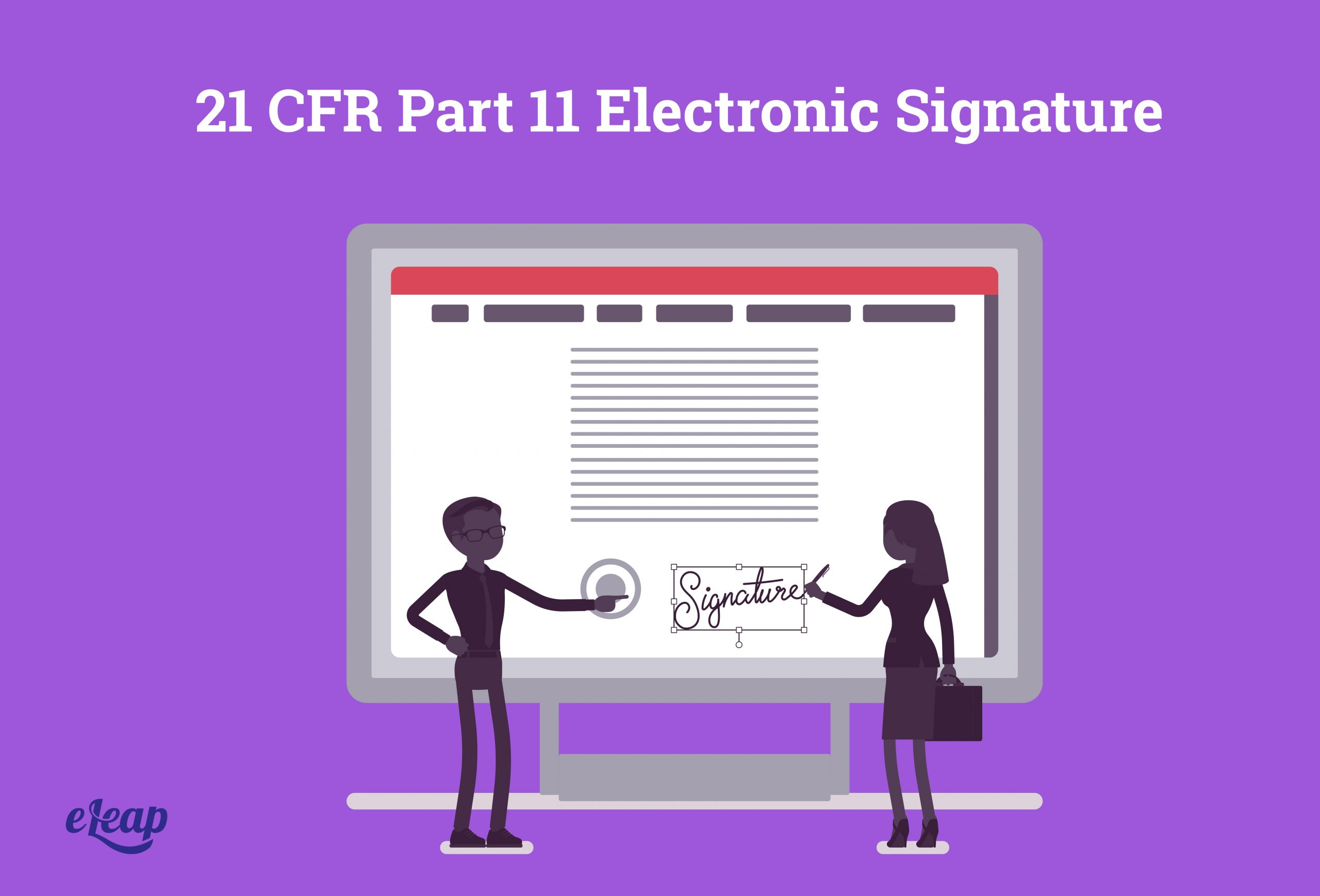 21 CFR Part 11 Electronic Signature