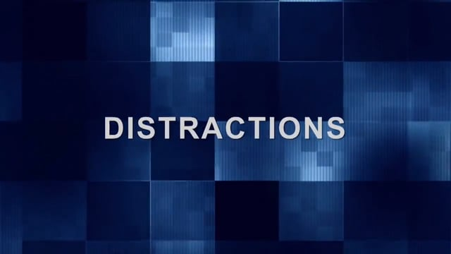 Conference Call – Avoiding Distractions