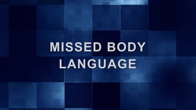 Conference Call – Missed Body Language