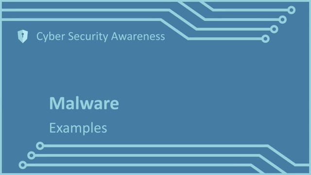 Cyber Security Awareness Part 3: Malware