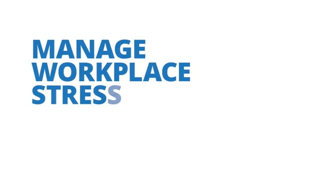 Manage Workplace Stress