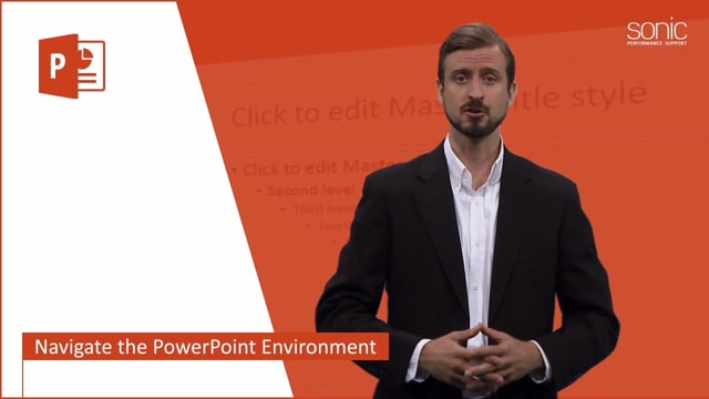 Microsoft PowerPoint 2016 Level 1.1: Getting Started with PowerPoint