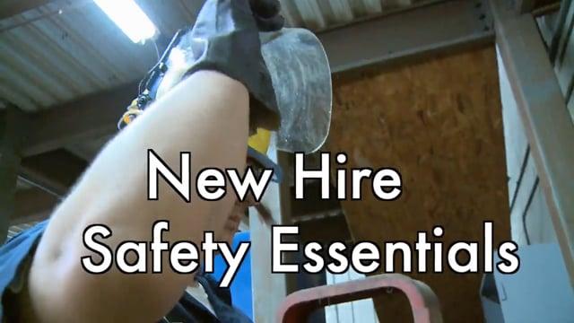 New Hire Safety Essentials