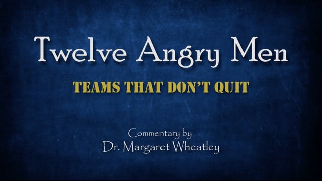 Twelve Angry Men: Teams That Don't Quit