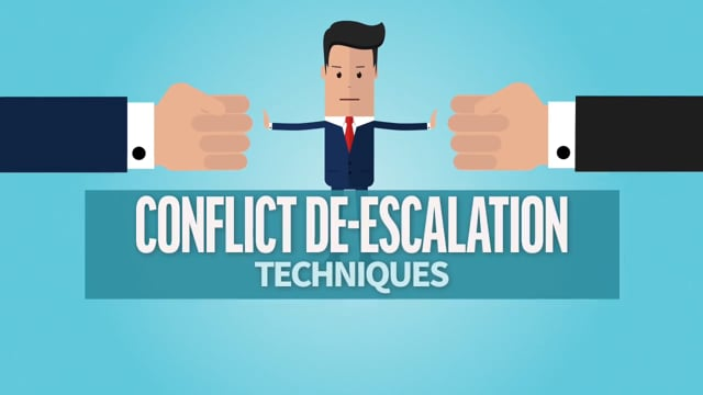 Conflict De-Escalation Techniques: Developing a Solution Mindset