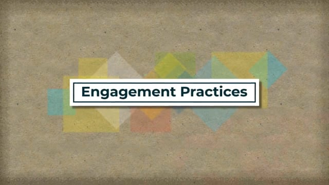 Effective Presentations: Engagement Practices