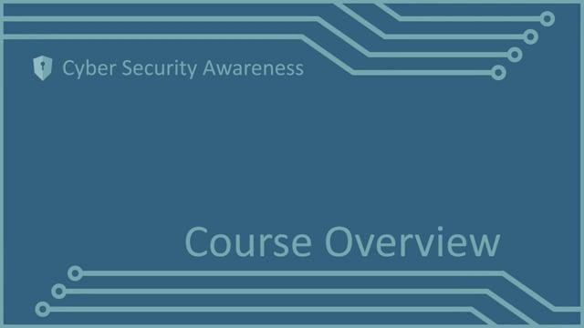 Cyber Security Awareness Part 1