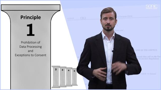 The General Data Protection Regulation (GDPR) Part 2: Five Basic Principles
