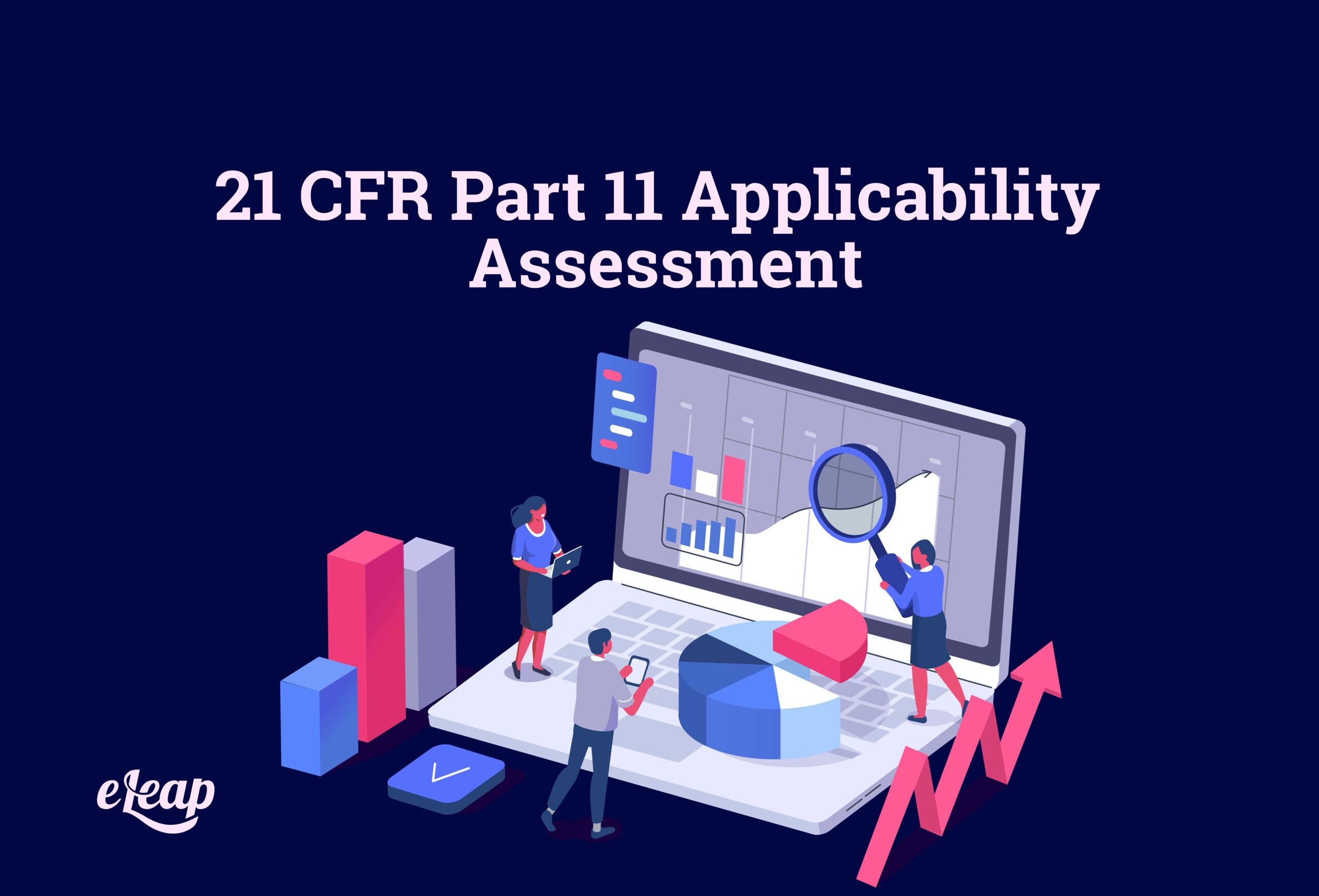 21 CFR Part 11 Applicability Assessment
