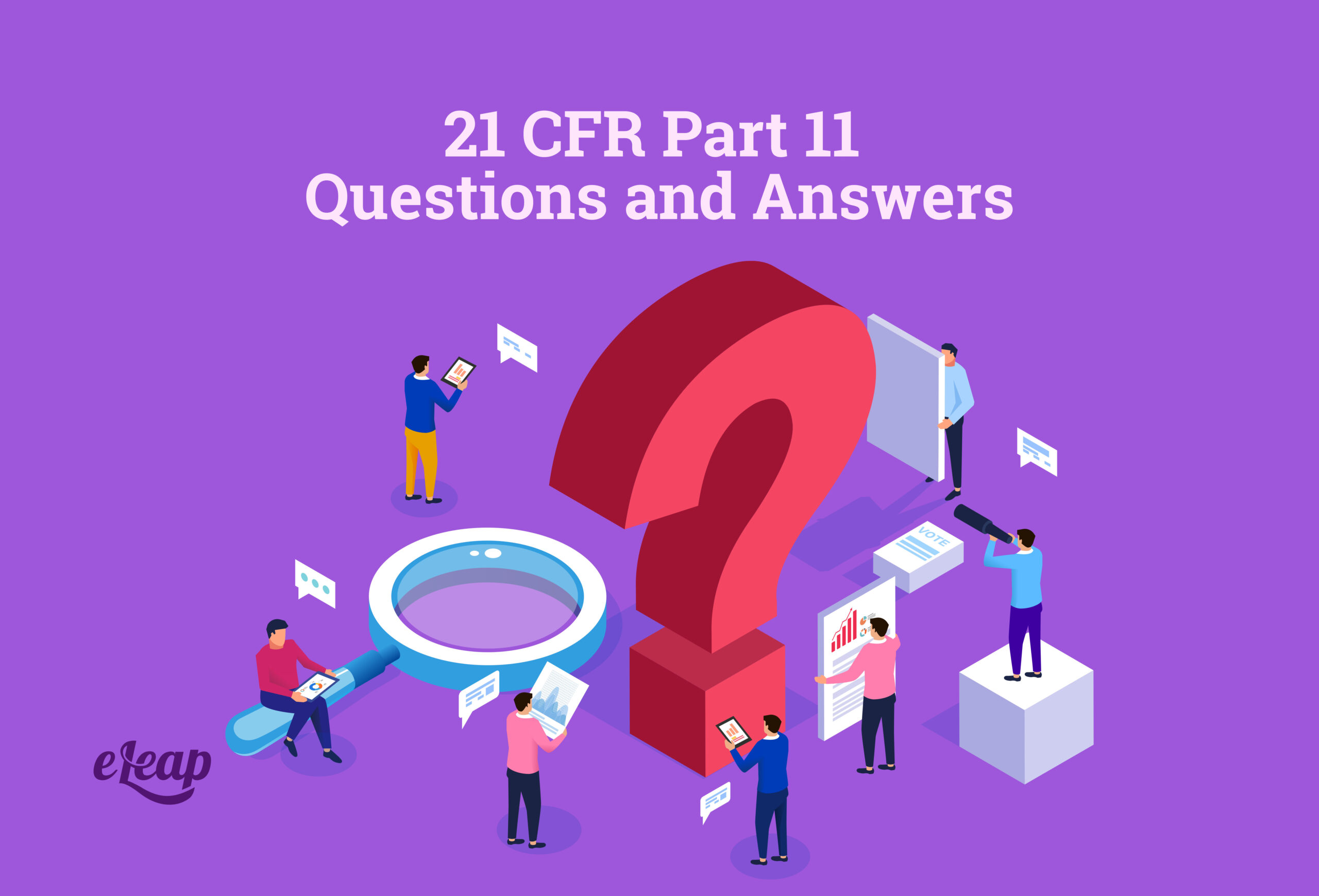 21 CFR Part 11 Questions and Answers