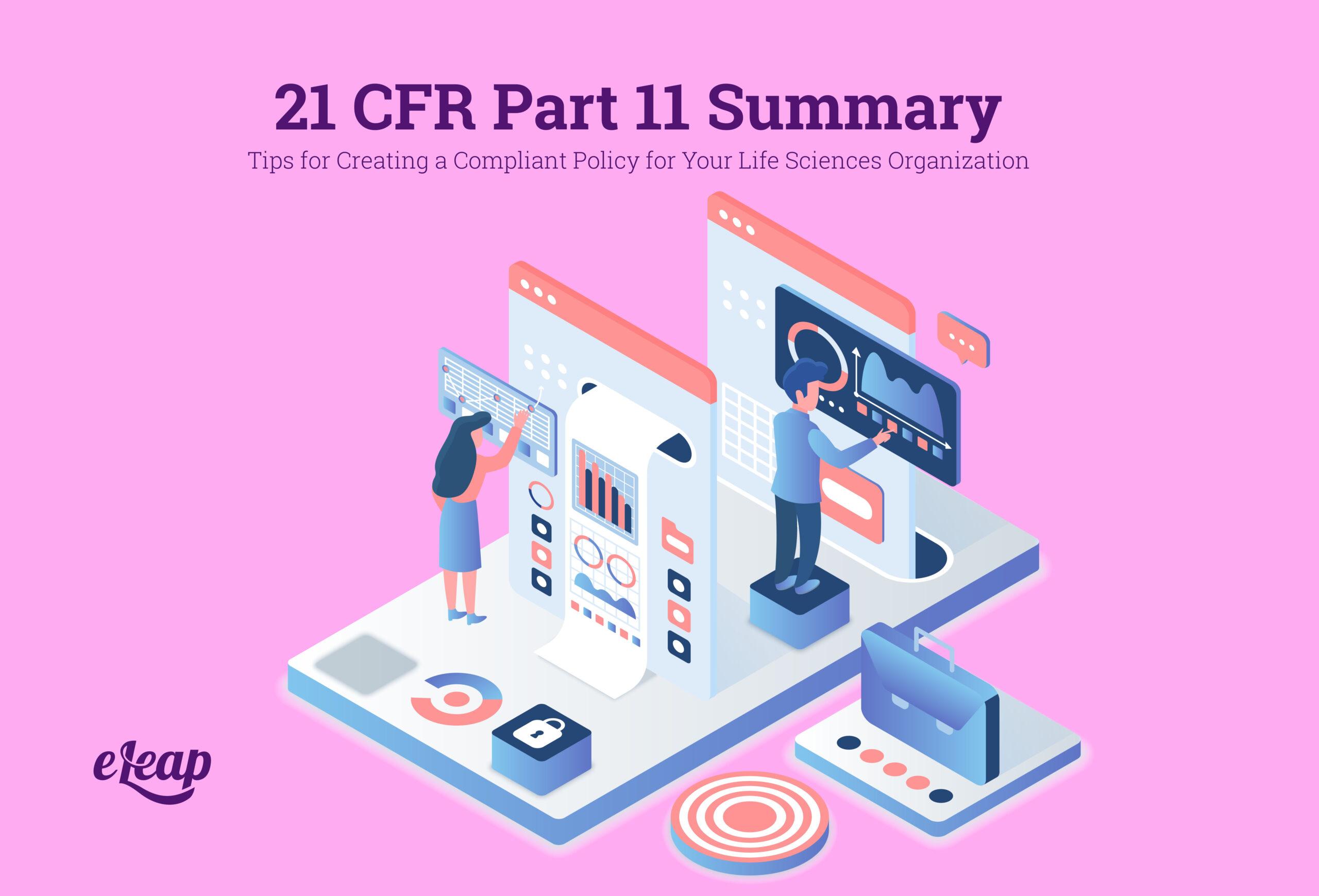 21 CFR Part 11 Summary