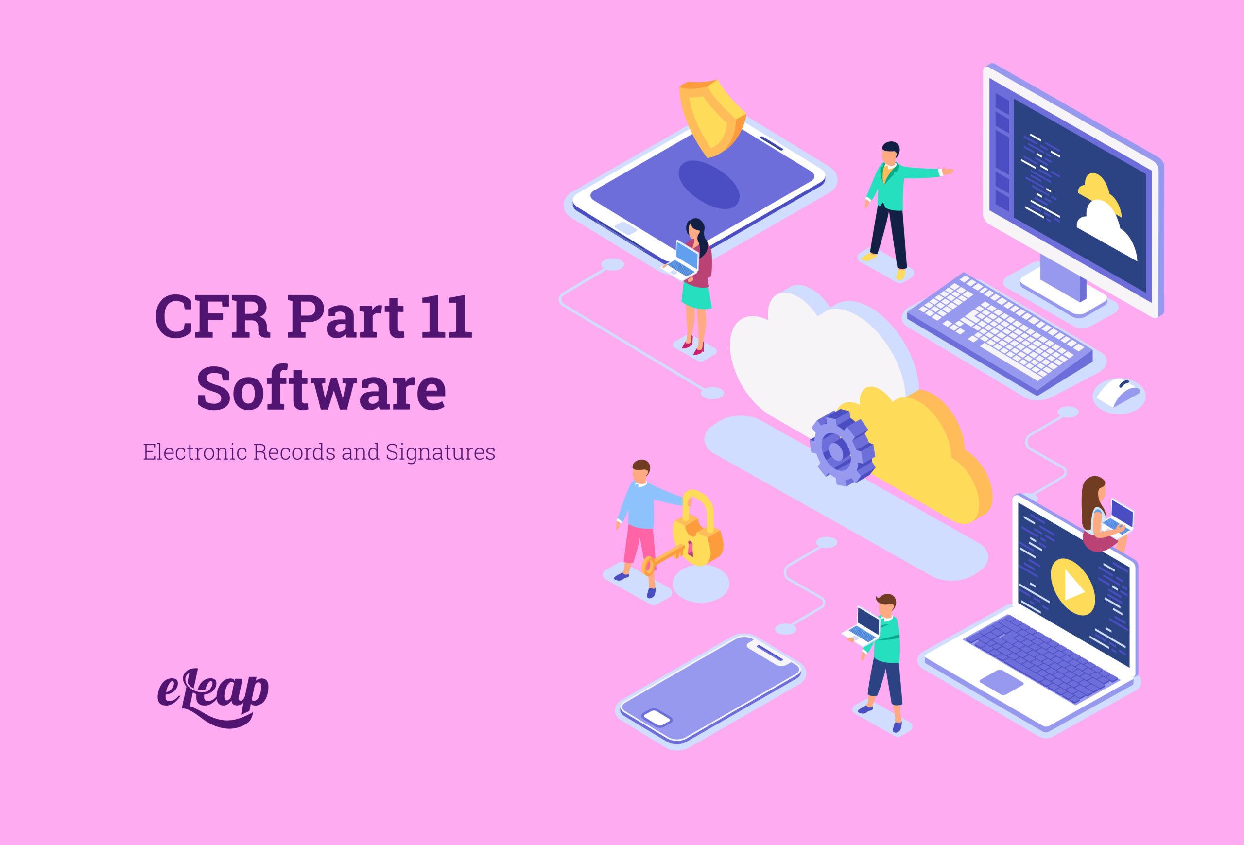 CFR Part 11 Software