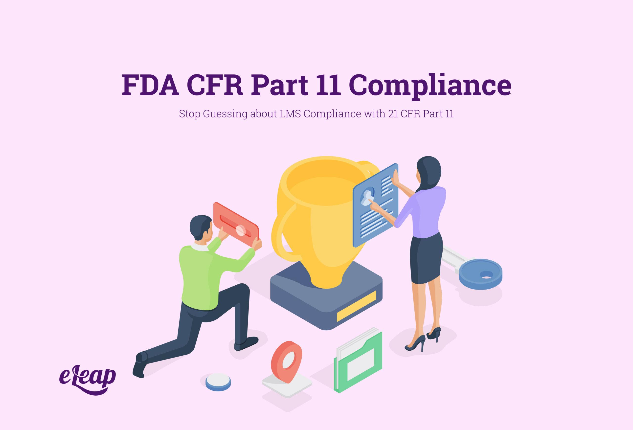 FDA CFR Part 11 Compliance