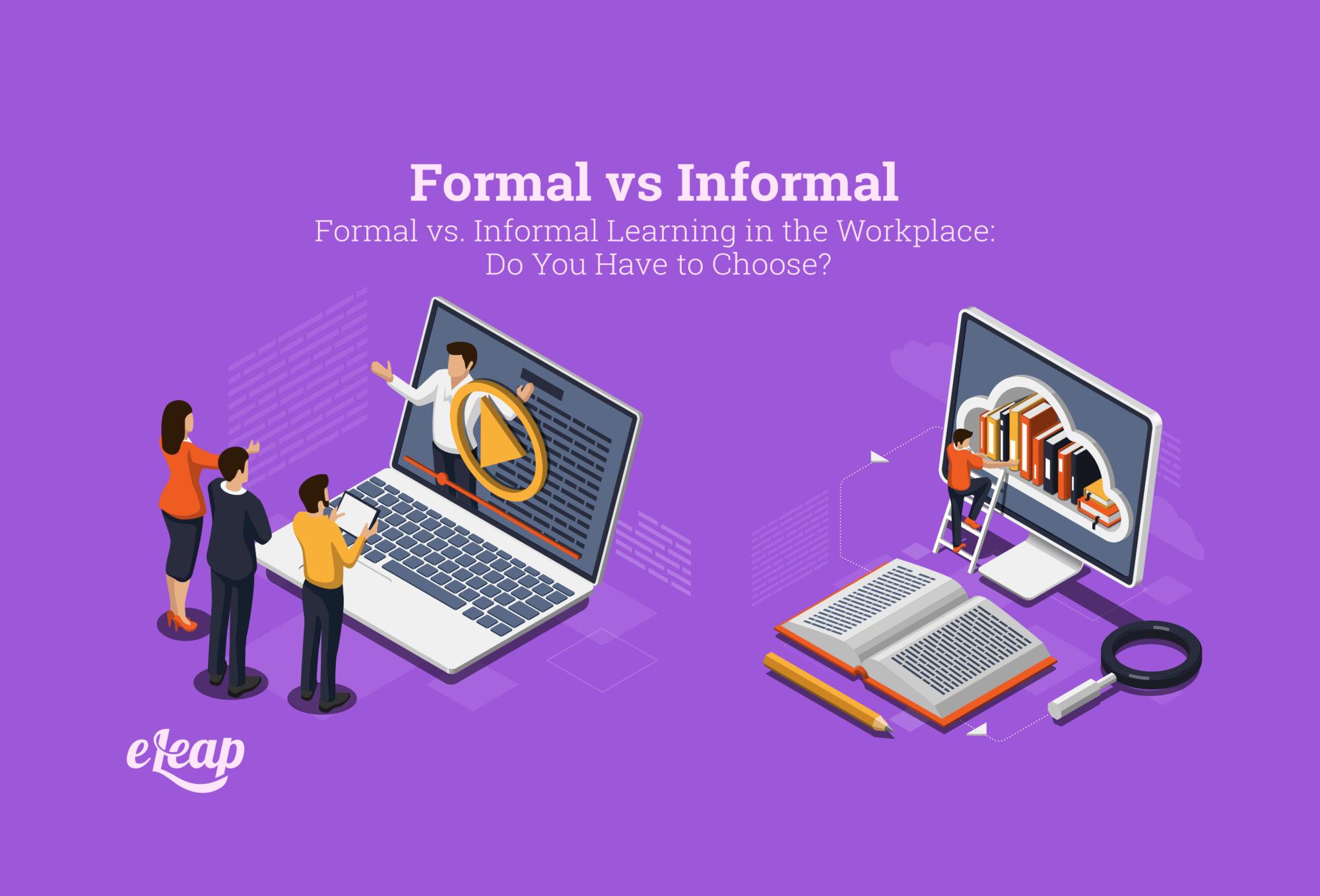 Formal vs Informal Learning