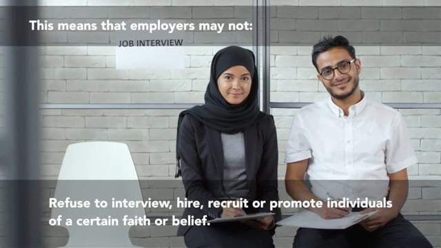 Religious Harassment And Discrimination In The Workplace
